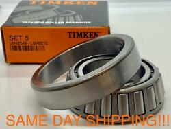 Lm48548/lm48510 Wheel Bearing And Race Set-race Front Inner Timken Set5 Set 5