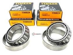 Lm104949 Lm104911a Timken Differential Bearings Front New F250 Truck F350 F450