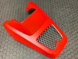 Yamaha Blaster Grill Hood Nose Cone Brand New Yfs200 Front Fender 88-02 Red