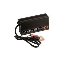 Braille Auto Battery 1232 12 Volt 2 Amp Agm Charger New