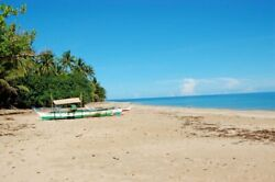 White Sand Beachfront In Puerto Princesa Palawan 24 Acres Land - Beach And Forest