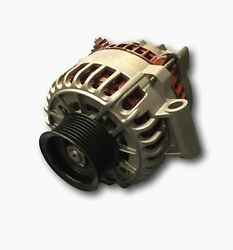 8307 | Ford 200 Amp 6g Alternator W/ 8 Groove Pulley For 6.0l And 7.3l Dies