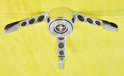 1965 1966 Ford Mustang Fastback Convertible Shelby Orig Steering Wheel Horn Ring