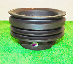 63 1964 1965 1966 67 68 Ford Mustang 260 289 P/s A/c 3-g Crank Pulley Cast Iron