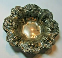Vintage Reed And Barton Sterling Silver 925 X569 Francis I Candy Nut Dish