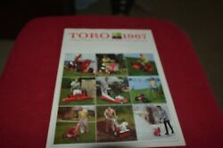 Toro Lawn And Garden Buyers Guide For 1967 Brochure Fcca