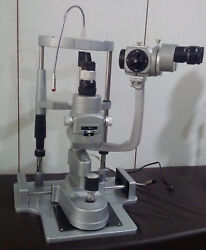Miko/mzl-3s/3 Step Sliver Slit Lamp With Manual Table And220v Power Supply Ziess