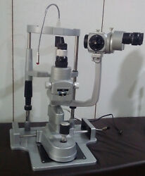 Miko/mzl-3s/3 Step Sliver Slit Lamp With Manual Table And110v Power Supply Ziess