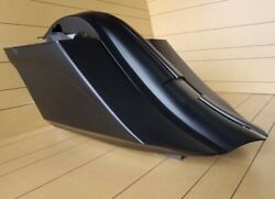 Drop Back Saddlebags And Fender Stretched 7 Down And 14 Back Harley Baggers 97-13