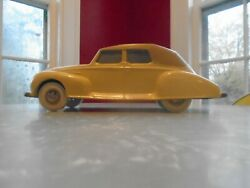 Marty Martino Signed 1939 Lincoln Zephyer 3 1991 1/18 Scale