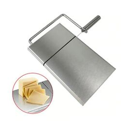 High Quality Stainless Steel Cheese Butter Bread Slicer Tool Cutting Table Board
