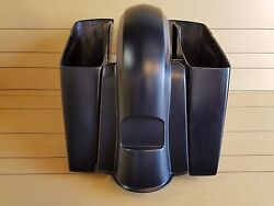 6extended Saddlebag No Cut Out/rear Fender For All Hd Touring Models 2014-up