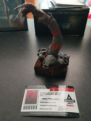 Extremely Rare Nightmare On Elm Street Freddy Krueger Le Of 25 Arm Bust Statue