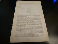 Government Report 1903 William Ritchie Co F 83rd Illinois Infantry Civil War