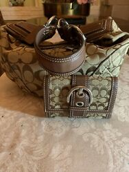 Coach Small Bag With Wallet $45.00