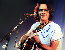 Rick Springfield Signed Autographed 11x14 Photo Jessieand039s Girl Rare Psa/dna