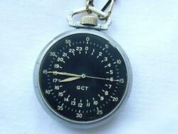 1941 Elgin Gct Wwii Vintage Air Force Watch U.s. Army A.c Chain For Pocket Watch