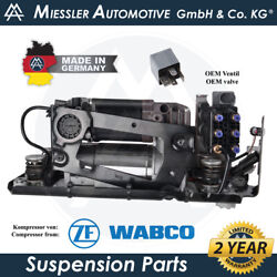 Rolls-royce Wraith Rr5 2014-and03920 Air Suspension Compressor And Solenoid 37206886059
