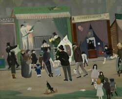 Ger Langeweg A Day At The Fair 1930 Archival Quality Art Print