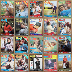 Magazine - Golf International 1970s Golfers Full Contents Index Shown - Various