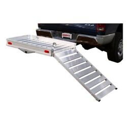 Husky 88133 Wheelchairs And Most Mobility Scooter Ramp Fits 2 Recvr 500lb Cap New