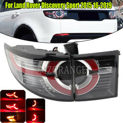 Left Outer+inner Tail Light Rear Lamp Led For Land Rover Discovery Sport 2015-19
