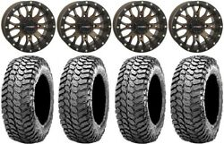 System 3 St-3 Bronze 14 Wheels 30 Liberty Tires Yamaha Grizzly Rhino