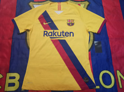 Barcelona 2019-20 Away Match Player Issue Shirtcl Veision, Bnwt
