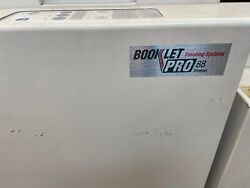 Plockmatic Morgana 75 Bookletmaker And Trimmer Mbm Booklet Pro 7500 Zine Machine