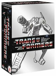 Transformers Complete Original Tv Series Dvd Box Set Collection Show All Seasons