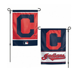 Mlb Cleveland Indians 12x18 Double Sided Design 2 Sided Garden Flag Ncaa
