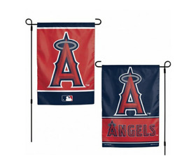 Mlb Los Angeles Angels 12x18 Double Sided Design 2 Sided Garden Flag Ncaa