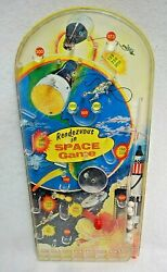 Rendezvous In Space Tabletop Pinball Game 1960's By Wolverine Toy Vintage S9468