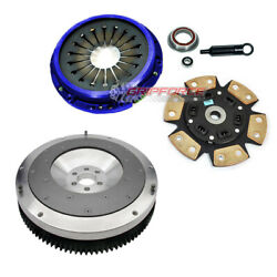 Fx Stage 3 Clutch Kit+aluminum Flywheel For 87-92 Toyota Supra 3.0l Turbo 7mgte