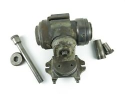 Cincinnati No. 2 Tool And Cutter Grinder Workhead W/ Draw Bar And Collet Adapters