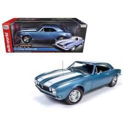 1967 Chevrolet Camaro Z/28 50th Anniversary Nantucket Blue Limited Edition To 10