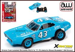 Auto World Stock Car Legend Richard Petty Plymouth Road Runner Also Fits Aw Afx