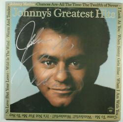 Vinyl Lp Johnny Mathis Andlrmandndash Johnnyand039s Greatest Hits G+