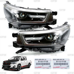 Fits Toyota Hilux Revo M70 80 Facelift 2020 21 Set Projector Head Lamps Lights