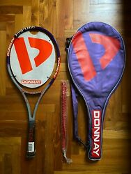 New Donnay Pro One Limited Edition Tennis Racquet L3 L4 4 3/8 1/2 Vintage