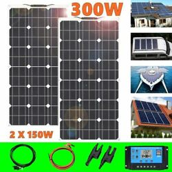 Portable Flexible Solar Panel Battery Charger 2150w 300w 12v Cell5v Usb Phone