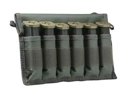 Vism Pistol Magazine Tote 6-slot For 9mm/.40 Magazine Tactical Molle Pouch Gray