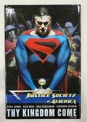 Justice Society Of America - Thy Kingdom Come Part One - Hardcover - Johns - Dc