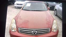 05 06 Infiniti G35 Hood Free Local Delivery Local Pick Up Red