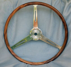 Morgan Plus 4 Wood Rimmed Steering Wheel - Tok 258