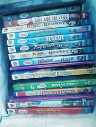 Lot Thomas The Train And Friends. 45different Dvd Free Shipping