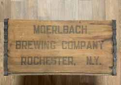 Pre Prohibition Beer Crate Moerlbach Brewing Company Rochester New York Ny Usa