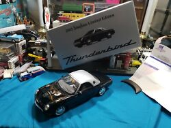 2002 Ford Thunderbird Neiman-marcus 1/18th Scale Limited Edition Die-cast Model