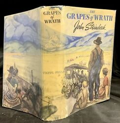 John Steinbeck / The Grapes Of Wrath First Edition 1939
