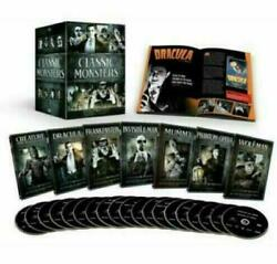 Universal Classic Monsters Complete 30-film Collection Dvd Box Set Movie Lot Usa
